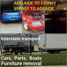 Tailor Made Interstate Transport SPACES GOING CHEAP SYD-ADL 20/2 Salisbury Salisbury Area Preview