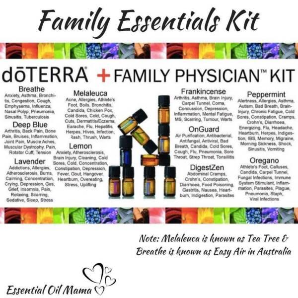 Doterra Essential Oil Kit Diffuser Membership Freebies