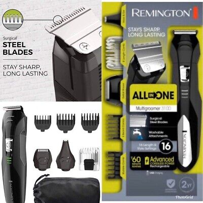 Remington All-In-One Multigroomer 3100 Hair Clippers - Trimmer HairCut Fast Ship
