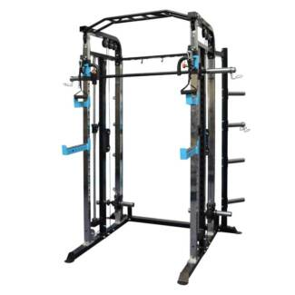 functional trainer / Smith machine / Half rack all in one