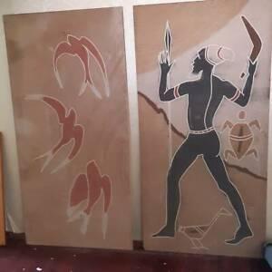 Indigenous Australian Sand Board Artworks Newcastle Newcastle Area Preview