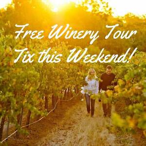 FREE Wine Tours this Weekend! Usually $49.99 Adelaide CBD Adelaide City Preview