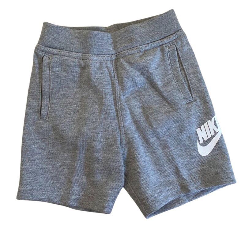 NWT Nike Gray Walking Shorts Size 24 Months