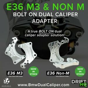 BMW E36 M3 Dual Caliper Brackets  ( drift , time attack , hydro , rally )