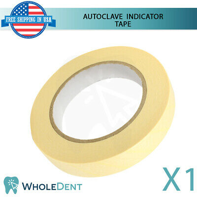 Autoclave Indicator Tape Sterilization Dental Adhesive Defend 19mmx50m Steam