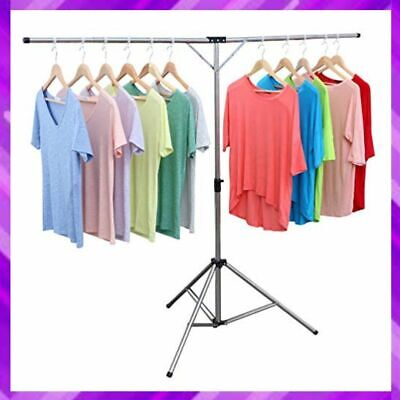 CLOTHES DRYING RACK for Garments Laundry Freestanding Foldable Steel By EXILOT