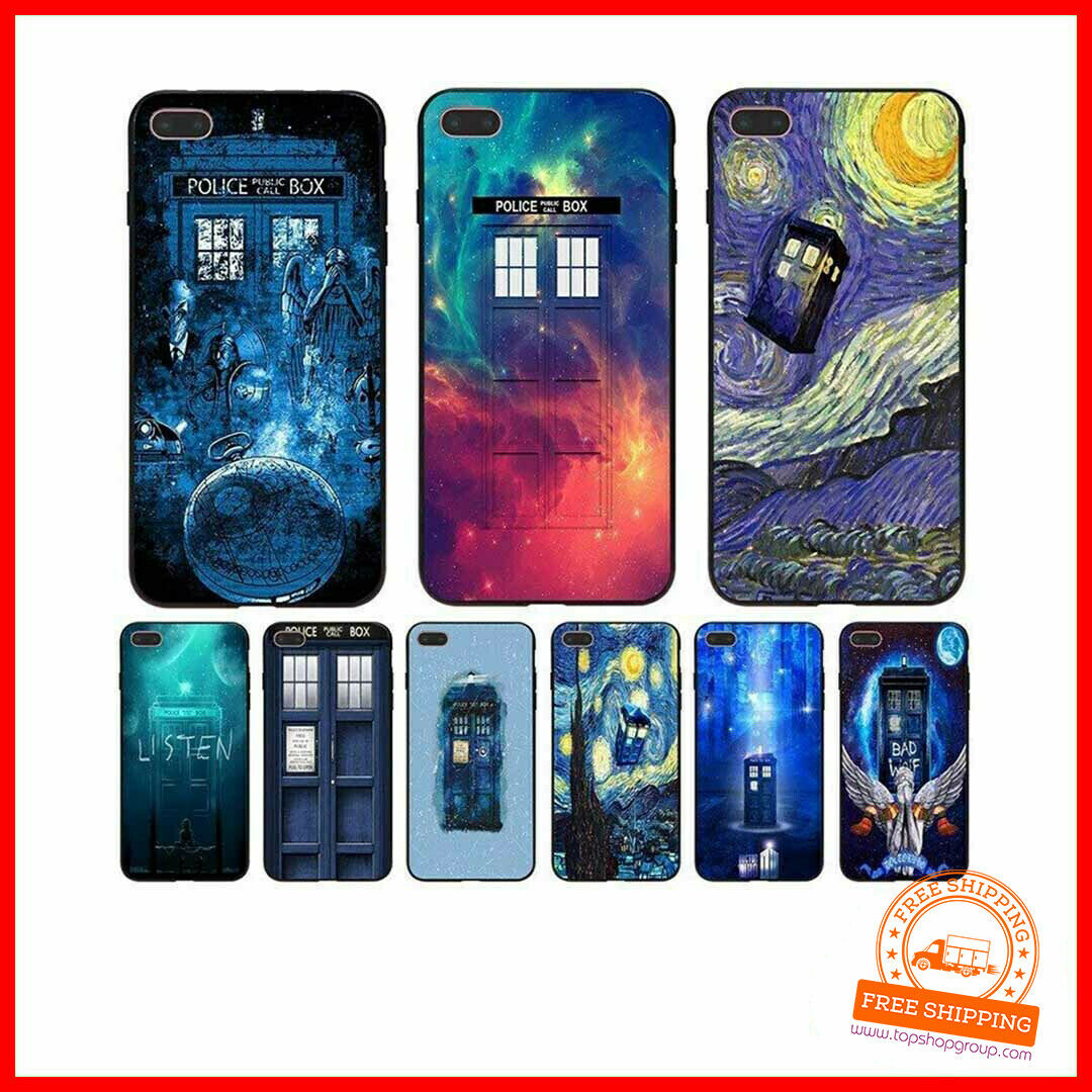 Tardis Box Doctor Who Coque Handyhülle  für Apple iPhone Neu Staffel Serie TV