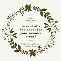 Experienced Bartenders for Hire