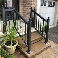 Aluminum Railings Fences Columns