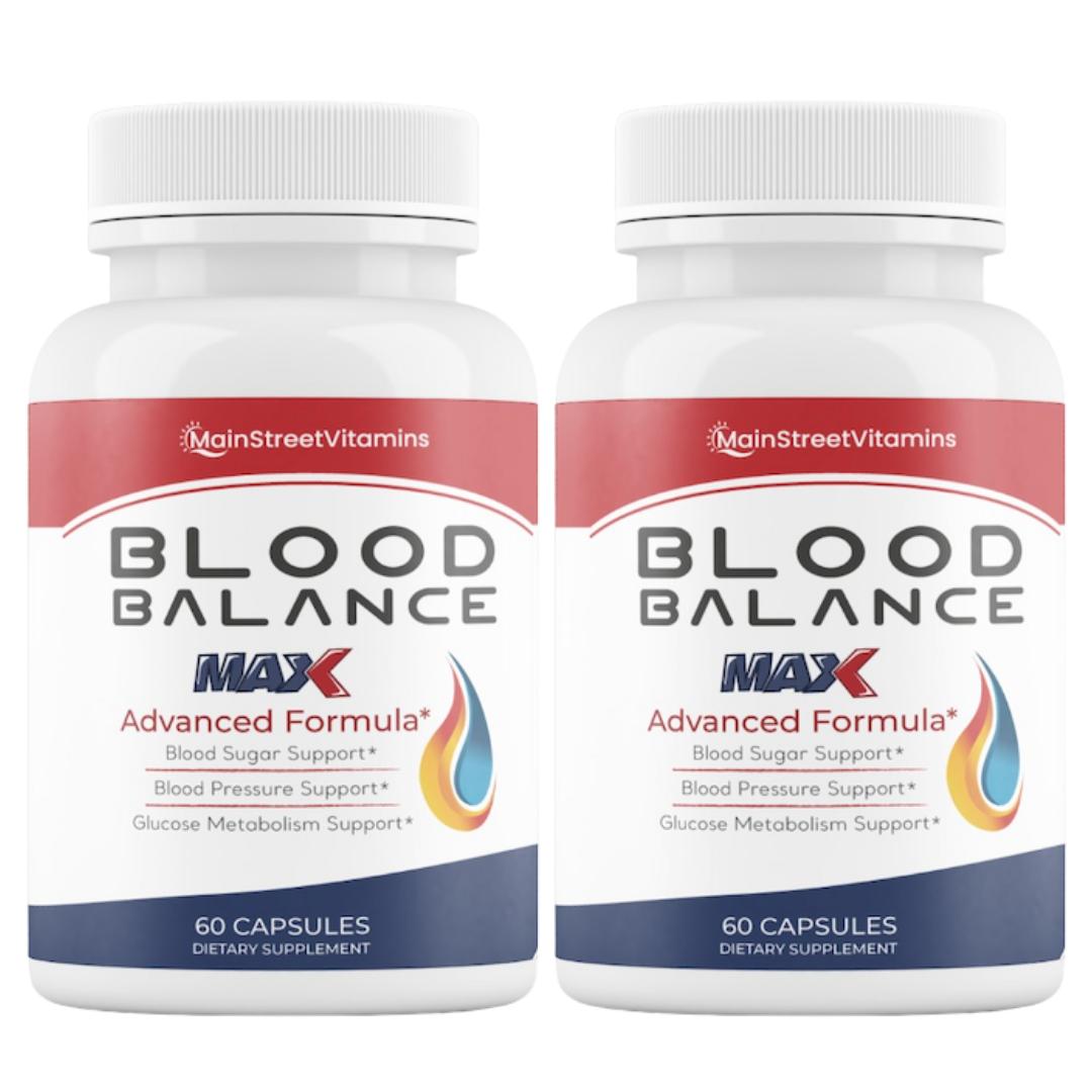 Blood Balance Advanced Formula - 120 Capsules - 2 Bottles