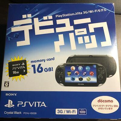 PS Vita 3G/Wi-Fi model PCH-1000 Handheld Console - Black