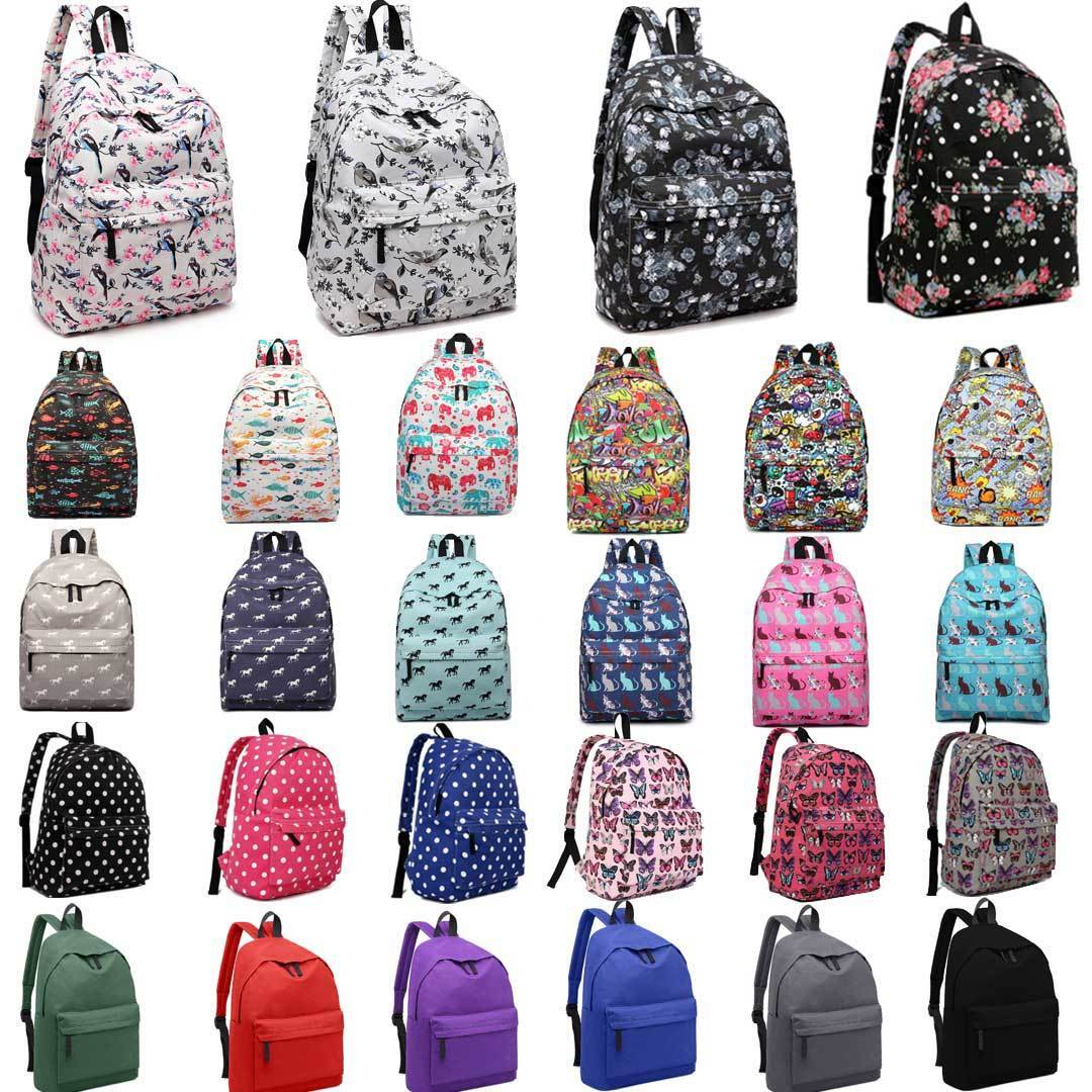 Leaper Cute Rainbow Pattern Backpack for Kids Backpack Book Bag Gifts for Kids