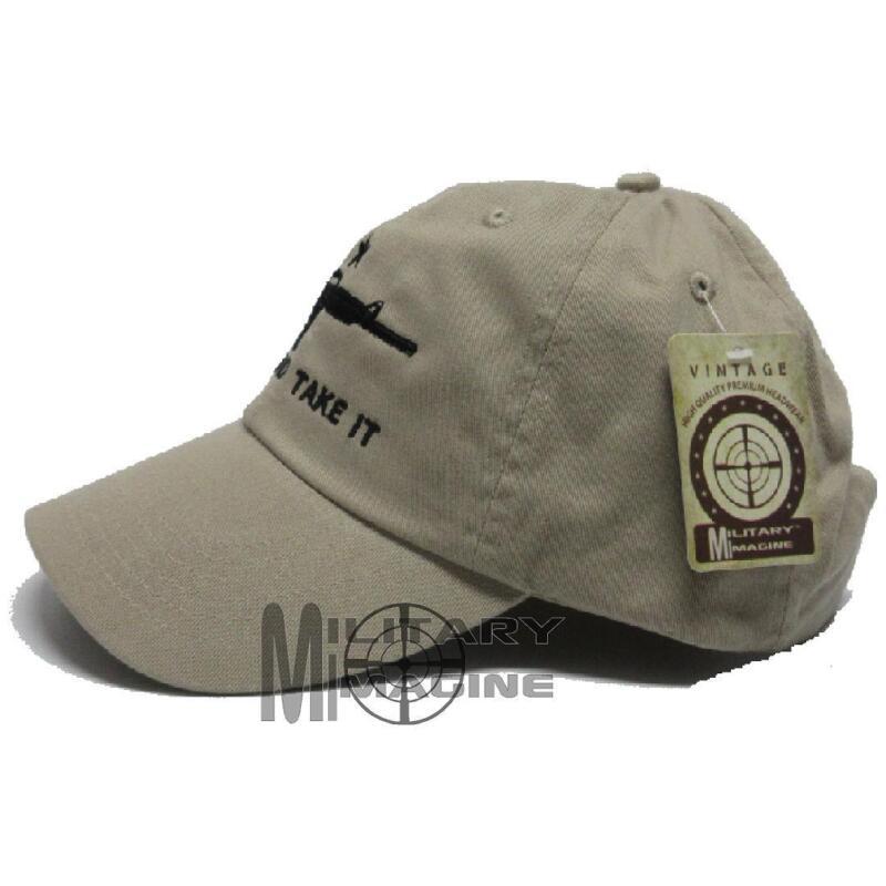 Come And Take It Rifle Weapon AR-15 2nd Amendment Star Gun Hat Cap Camo Desert