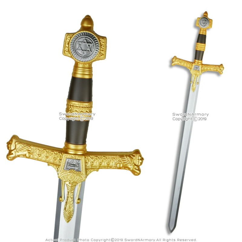 "47"" Foam Padded King Solomon Medieval Long Sword LARP Cosplay"
