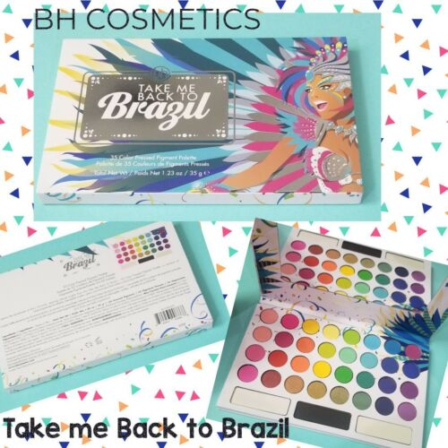 NEW BH Cosmetics 35-Color TAKE ME BACK TO BRAZIL EyeShadow P