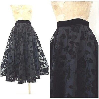 Petticoat Set ( Vintage 40s Smart Set Petticoat Skirt Size Small Full Circle Pinup Cocktail )