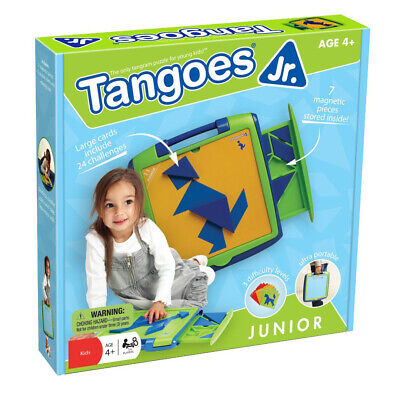 Tangoes Jr (Tangoes Jr. Game - Creative thinking Magnetic puzzle for)