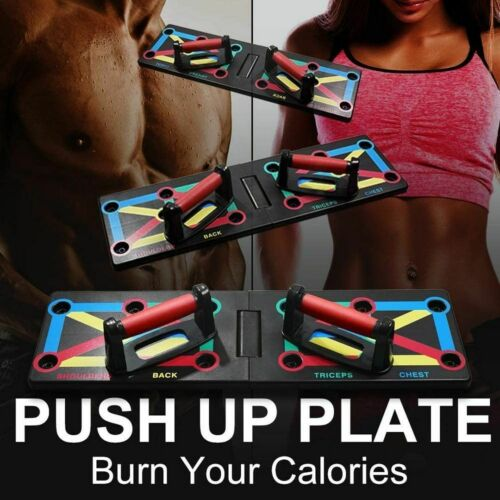 Newest Complete Pushup Training System, 12-in-1 Combined Push Up Board
