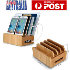 Bamboo Multi-Device Organization Station Dock Charging