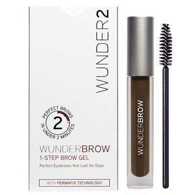 WUNDERBROW Brow Gel Perfect Eyebrows In 2 Mins Wonderbrow - Black / Brown