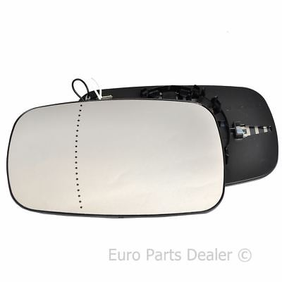 Wing mirror glass for Renault Clio 05 09 Left Passenger side Electric
