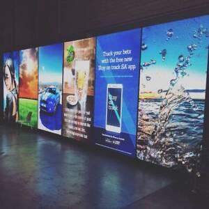 LED WALL 10m x 3m - 6mm screen 7 panels - USED