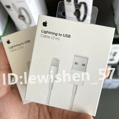 Genuine iPhone Charger Cable - Apple Lightning Sync USB Lead 8 7P 6s 5 X XS Max