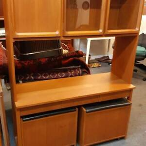 Parker  Stereo and Record Display Cabinet Newcastle Newcastle Area Preview