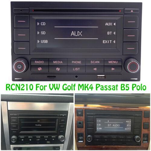 Autoradio RCN210 Bluetooth SD MP3 CD Player USB für VW Golf MK4 Passat B5 Jetta