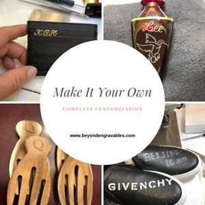 Engraving and Leather Personalization