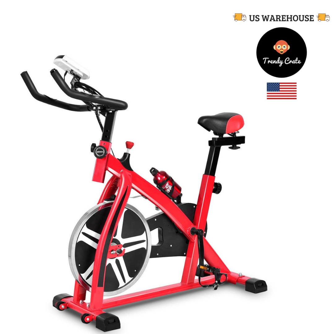 BEST Adjustable Indoor Aerobic Spin Bike Bicycle Cycling Car
