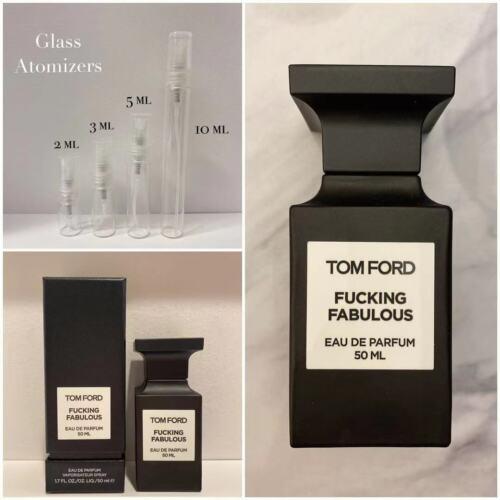 TOM FORD F*CKING FABULOUS AUTHENTIC SAMPLE 2ml 3ml 5ml 10ml GLASS Spray