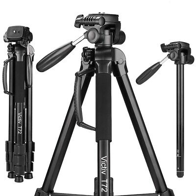 72-Inch lightweight Aluminum camera Tripod&Monopod  with carry case for Canon