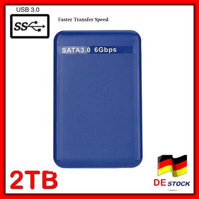 """2TB RIVE HDD external hard disk USB3.0 2.5 """"expansion storage Festplatte 5400RPM"""
