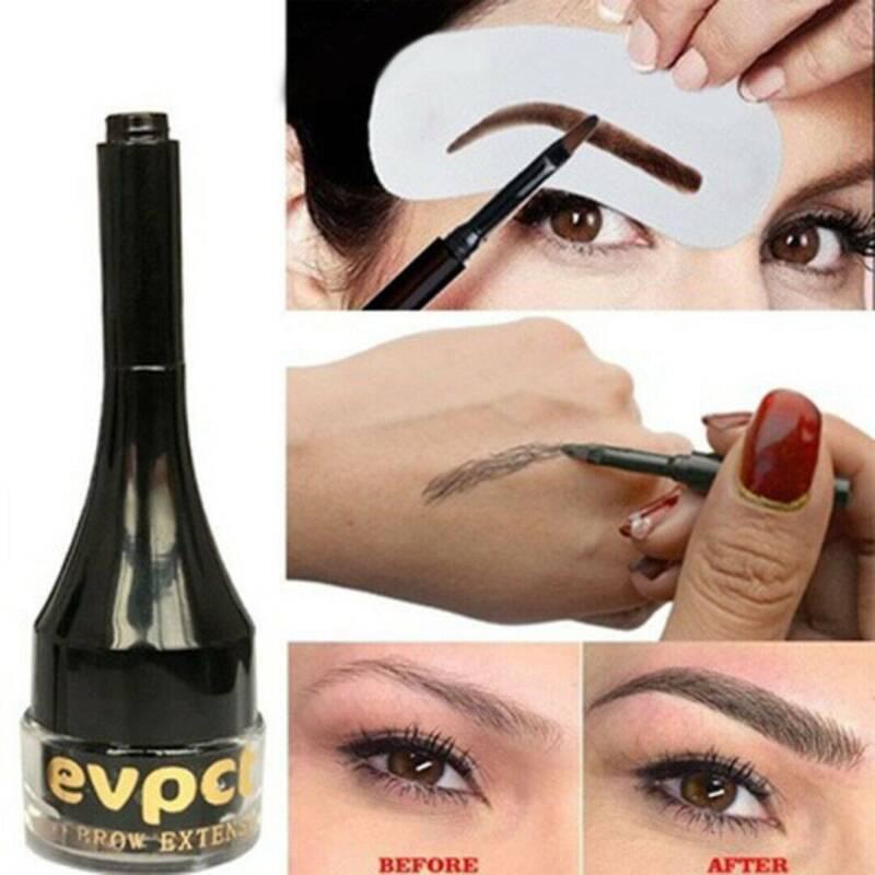 Eyebrow Extension Cream Dye Pomade 3D Eye Brow Fiber Gel Enh