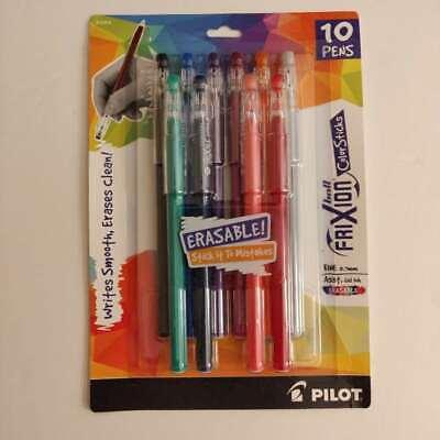 New Pilot Frixion Colorsticks Erasable Gel Ink Pens Fine Point 0.7mm