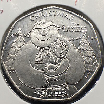 2014 IOM Xmas Currency 50p Coin