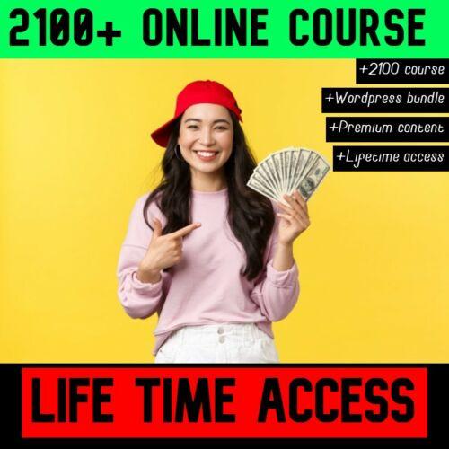 2100+ Online Course Bundle  Worth Millions 20TB  🔥 Lifetime Access 🔥