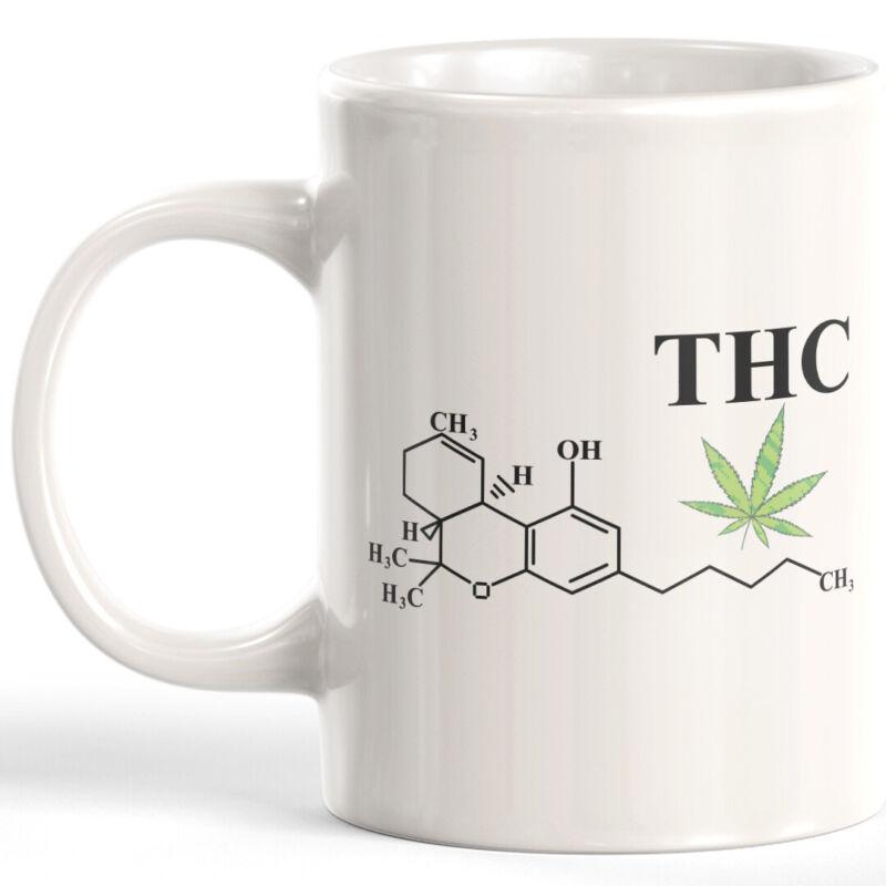 THC Molecule Coffee Mug