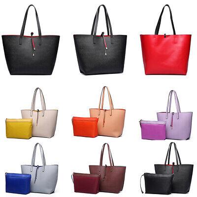 Designer Handtasche Nylon (Damen Designer-Handtasche reversibel 2 In 1 Tasche Schultertasche HQ Leder)