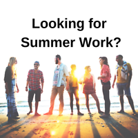 : Customer Sales & Service - Secure Your Summer Work Now!