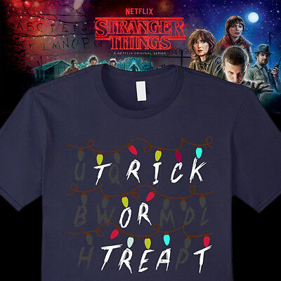 Stranger Things - Trick or Treat Halloween T-shirt Costumes Printed in - Trick Or Treating Halloween Costumes