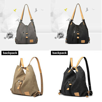 Large Women Tote Ladies Hobo Shoulder Bag Purse Canvas Handbag Travel Messenger