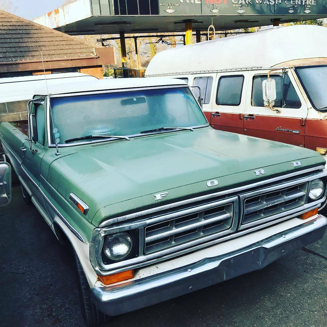 Cheap Classic Cars For Sale 1971 Ford F100 Long Bed V8 Auto Barn Short View More Photos