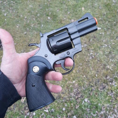 Denix Python Revolver 357 Mag Replica Simulated Firing / Loading Rotating Drum