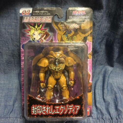 Rare Bandai Yu-Gi-Oh Hyper Real Monster Series Figure 3 Exodia the Forbidden One