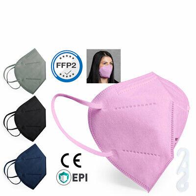 FFP2 Masken  Mundschutz Atemschutzmaske Gesichtsschutz Masken ab 10 Stück CE2834