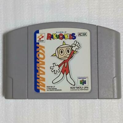 Nintendo 64 Rakugakids Usé (Besoins Japonais Console) De Japon Konami N64