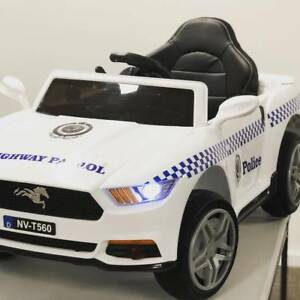 12v Ford Mustang style police Kids ride on car Greenacre Bankstown Area Preview