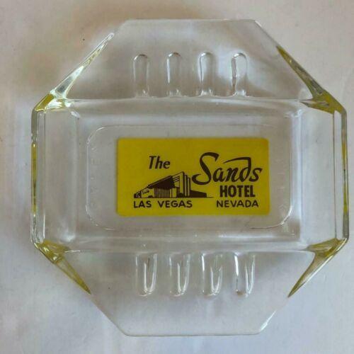 Sands Hotel and Casino Las Vegas Octagon Ashtray